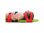 Pedi Lite Spineboard Child Side